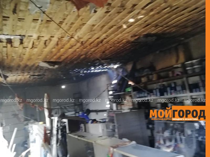 Строительный магазин горел в ЗКО