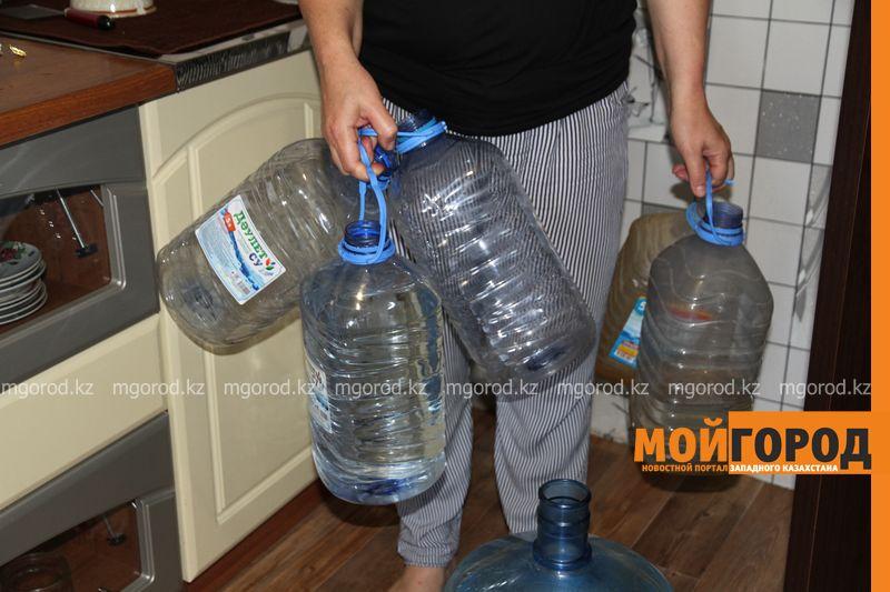 В нескольких микрорайонах Уральска отключат воду