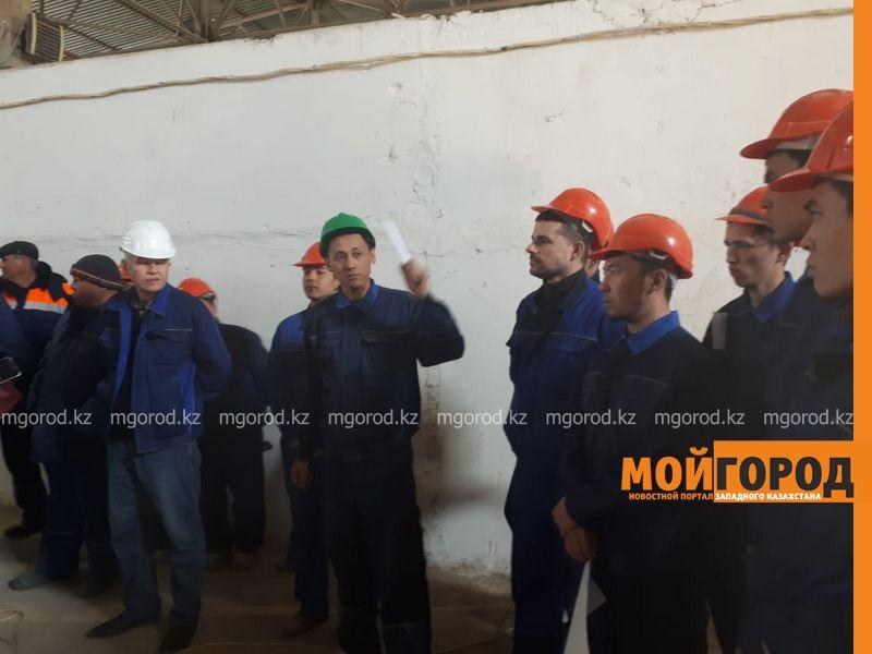 В Актобе рабочие завода по выпуску газобетона грозятся объявить голодовку