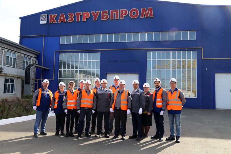 """""""ТМК-Казтрубпром"""" за безопасность производства и здоровья людей"""