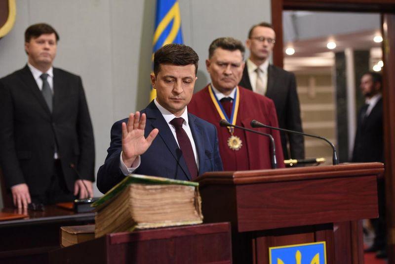 Инаугурация Владимира Зеленского: президент распустил Верховную раду