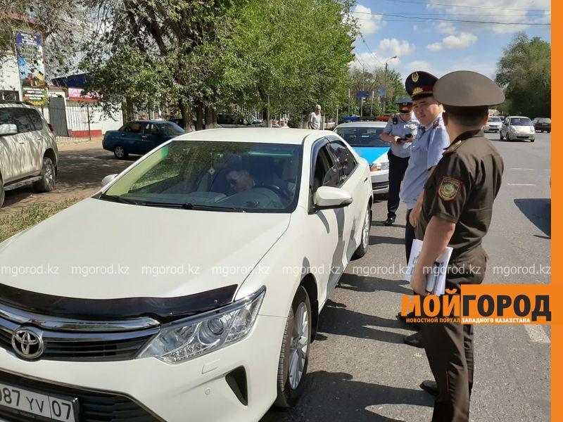 В Уральске водители игнорируют спецавтотранспорт