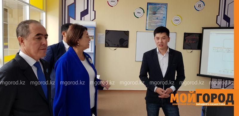 Сенаторы посетили с рабочим визитом ЗКО