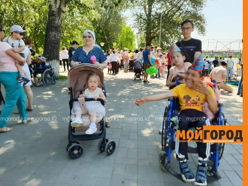 Новости Уральск - В Уральске организовали праздник детям с особыми потребностями
