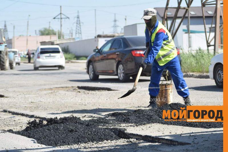 В Атырау проведут ямочный ремонт