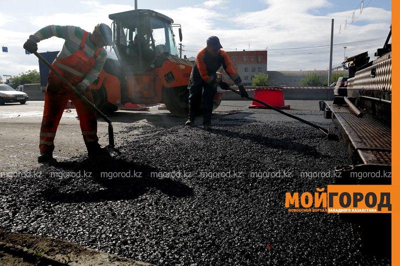 123 километра дорог отремонтировали в Атырауской области
