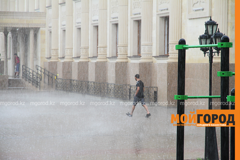 Новости Уральск - Гроза, град и шквальный ветер ожидаются в ЗКО
