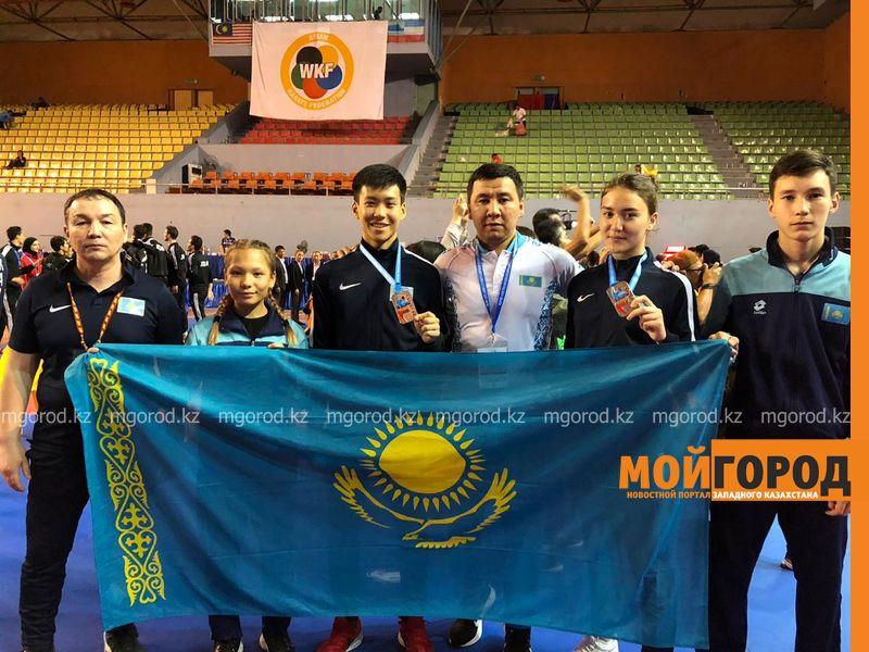 Серебро и бронзу завоевали каратисты из Уральска на чемпионате Азии