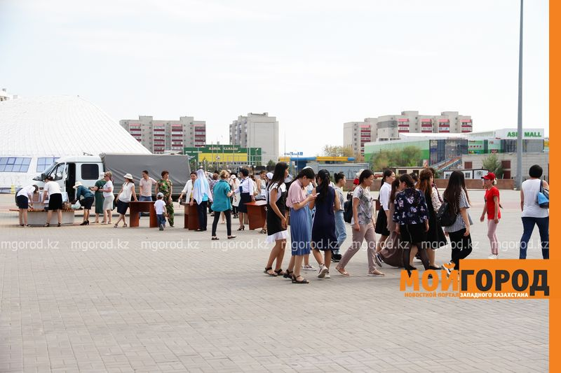 В Уральске прошла выставка книг