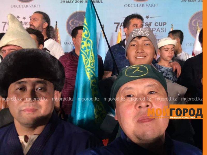 Житель Атырау принял участие в международном турнире лучников в Стамбуле