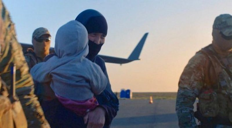 231 казахстанец эвакуирован из Сирии (видео)