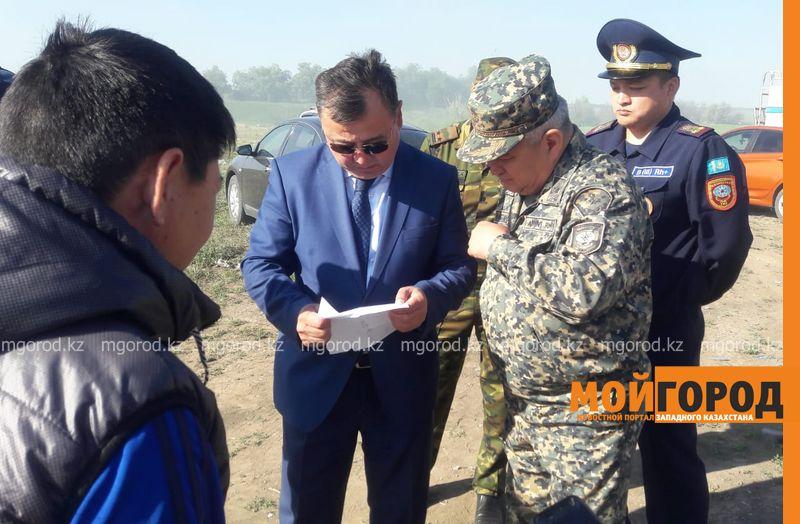 Новости Уральск - Ликвидация тления на полигоне ТБО взята под контроль - ДЧС ЗКО