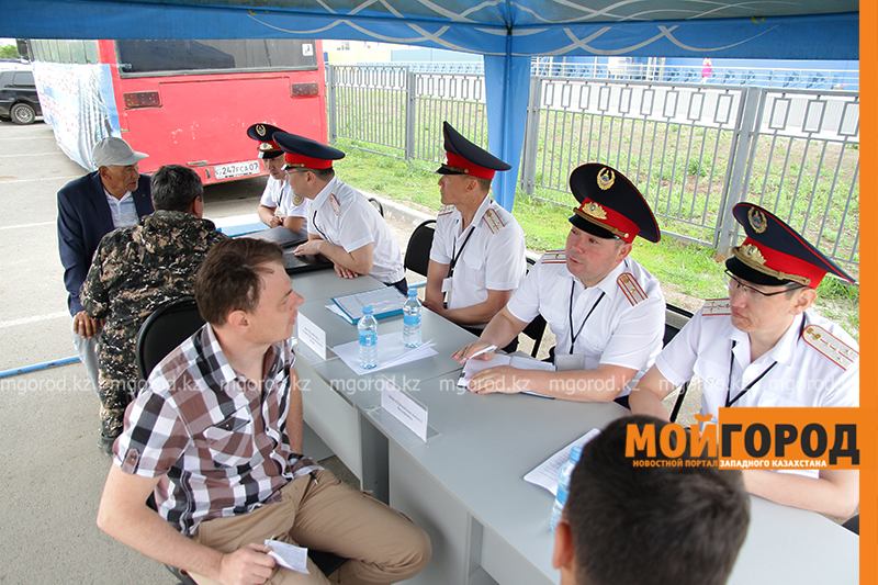 Новости Уральск - Полицейские будут консультировать горожан на улицах Уральска