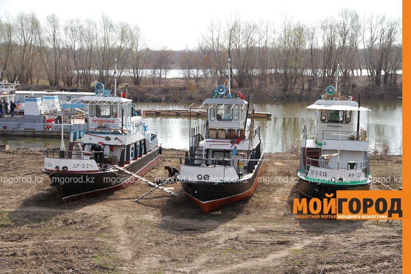 Новости Уральск - Две организации заплатят штраф за маслянистое пятно в затоне имени Чапаева