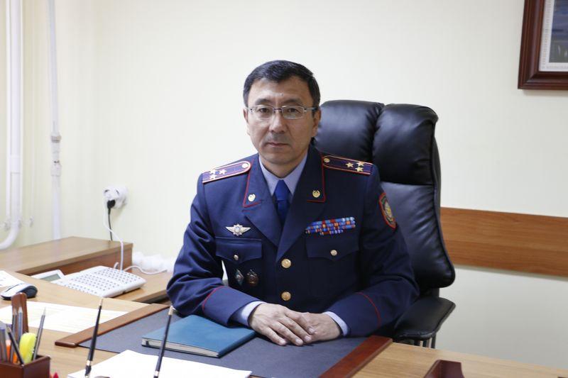 Первый замначальника департамента полиции назначен в ЗКО