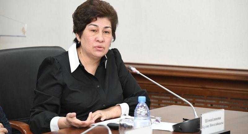 Новости - Глава МОН Куляш Шамшидинова рассматривает вариант отставки из-за ареста вице-министра
