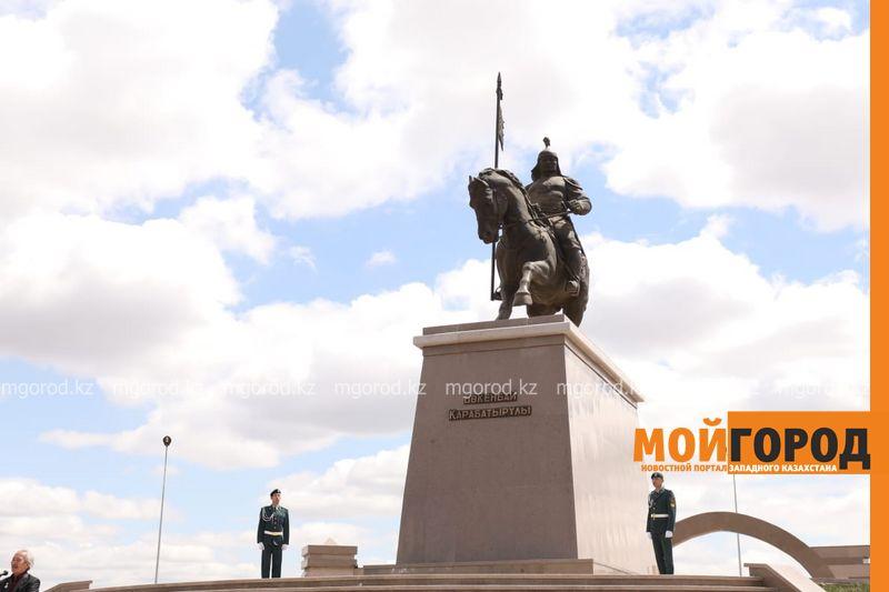 Новости Актобе - В Актобе открыли памятник Бокенбай батыру