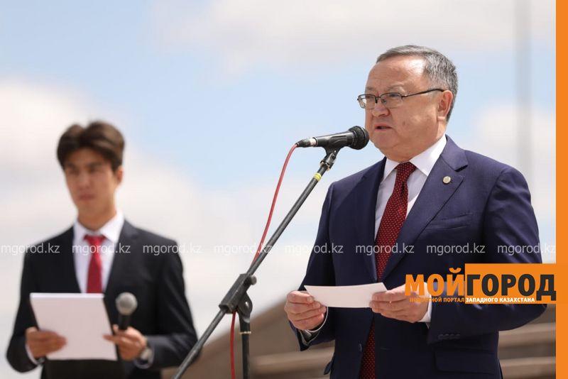 В Актобе открыли памятник Бокенбай батыру