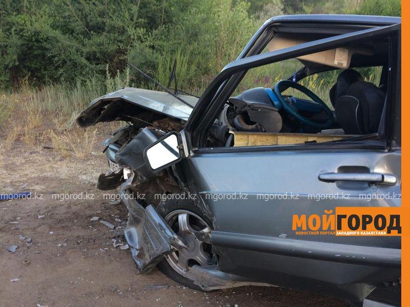 Новости Уральск - Пять человек пострадали при столкновении двух авто на трассе ЗКО