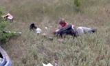 Плачущую рядом с мамой девочку на месте ДТП сняли на видео в ЗКО