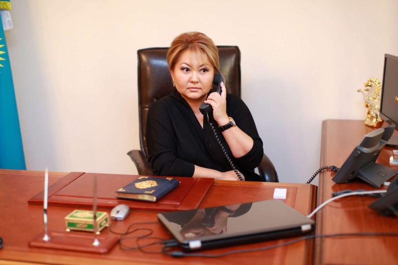 Новости - Нацбюро ведёт расследование в отношении вице-министра образования Эльмиры Суханбердиевой