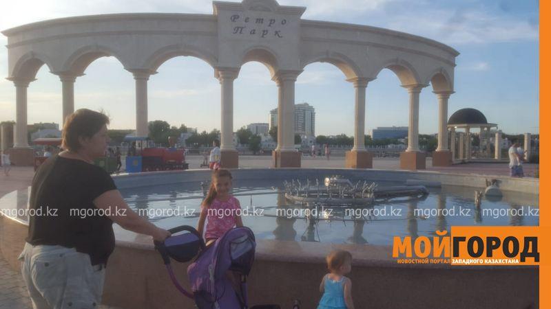 Новости Атырау - Ни один фонтан не работает в Атырау