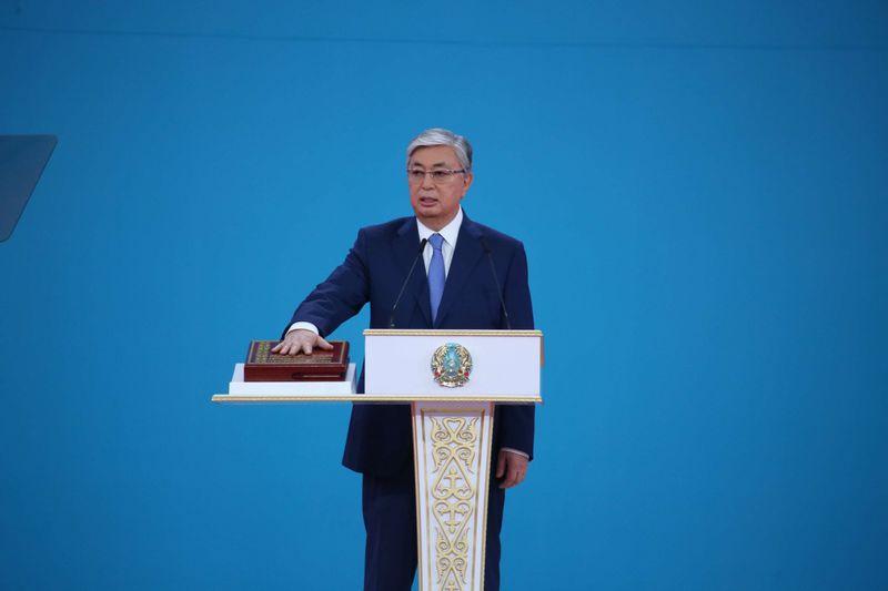 Новости - В Нур-Султане прошла инаугурация президента Касыма-Жомарта Токаева