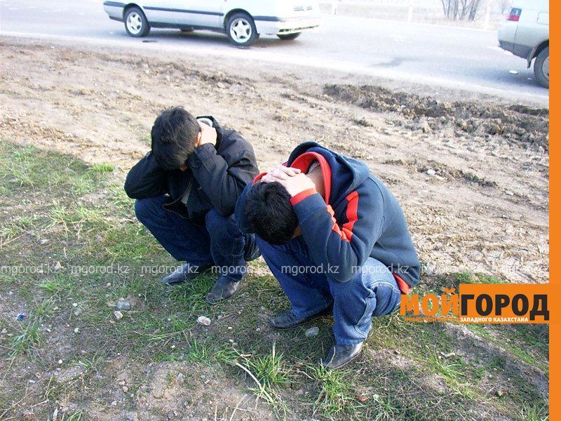 Грабитель напал на инвалида в Уральске