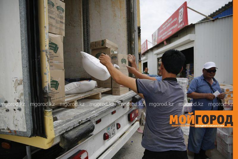 Новости Атырау - 20 тонн гуманитарного груза собрали в Атырау для жителей города Арысь