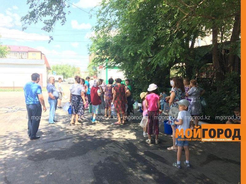 Новости Уральск - В девять пунктов осуществляется подвоз воды из-за аварии на КНС в Уральске