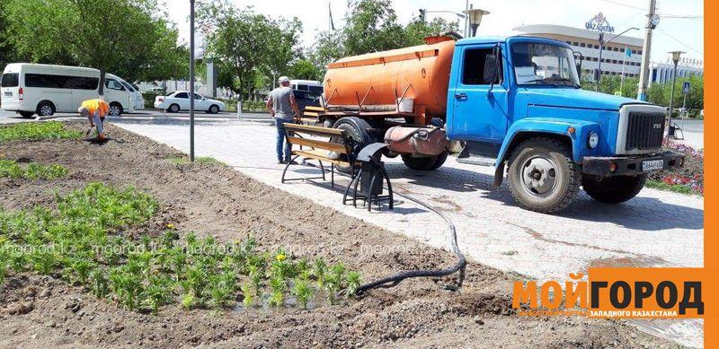 Новости Атырау - Более сотни километров поливочного водопровода проложат в Атырау