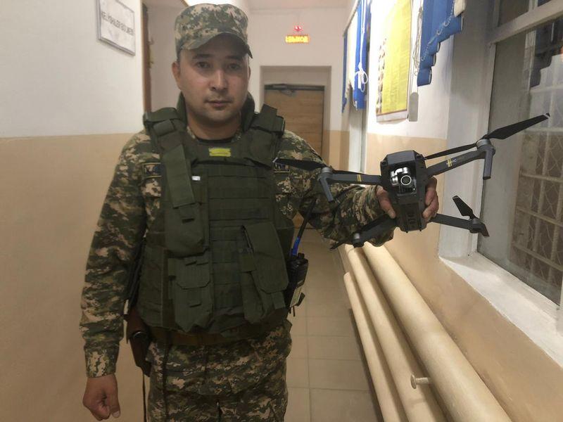 Новости Уральск - Житель Актобе незаконно снимал дроном воинскую часть