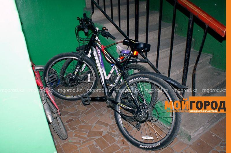 10 украденных велосипедов нашли полицейские ЗКО