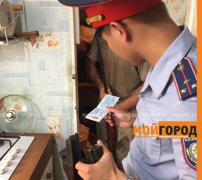 Новости Атырау - Сейф с ружьем украли в Атырау