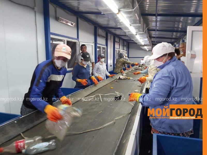 В Атырау открылся первый мусоросортировочный завод