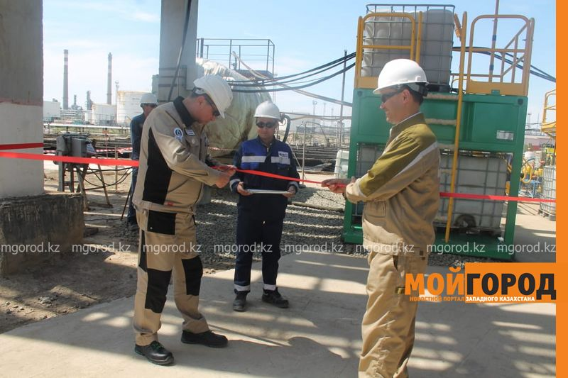 Атырауский НПЗ на 80% сокращает вывоз нефтесодержащих отходов