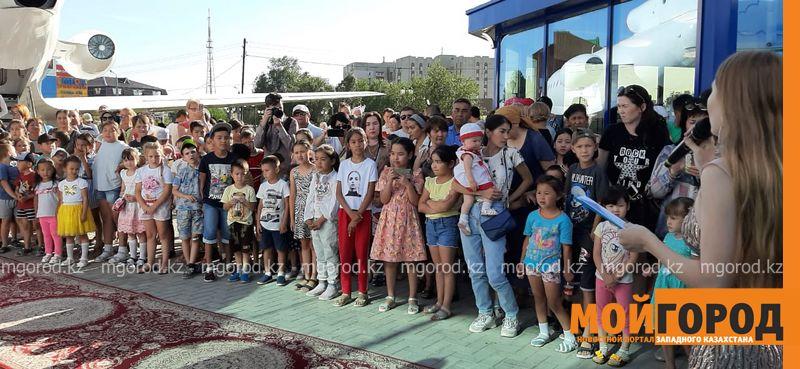 Новости Уральск - В честь Дня столицы в Уральске открыли детский центр