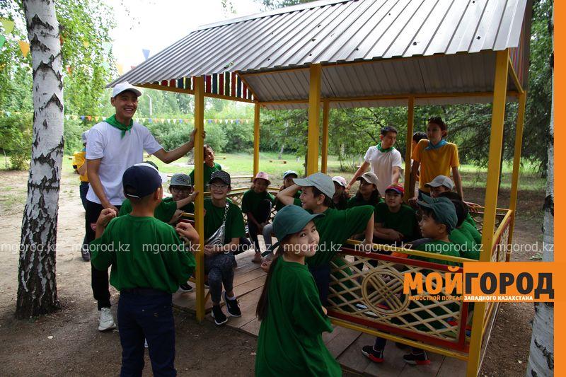 Новости Уральск - 50 детей из Арыси приехали отдыхать в летний лагерь ЗКО