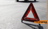 Машина скорой помощи сбила человека в Уральске