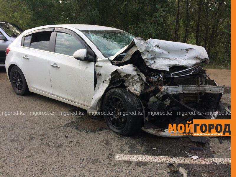 Новости Уральск - Подробности аварии с участием полицейского рассказали в департаменте полиции ЗКО