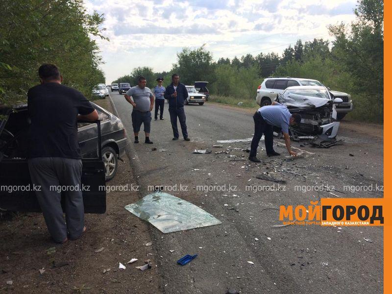 Новости Уральск - ДТП с участием полицейского произошло в ЗКО