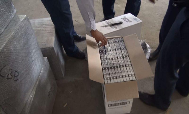 Новости Атырау - Более восьмисот тысяч пачек контрабандных сигаретперевозили в Атырау