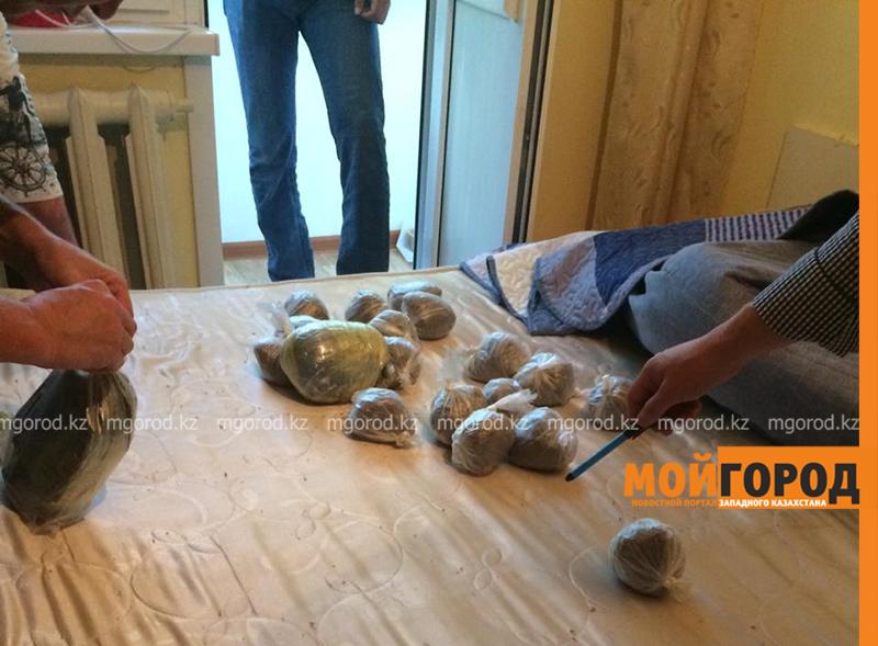 Новости Актобе - Более шести килограммов марихуаны хранил дома житель Актобе