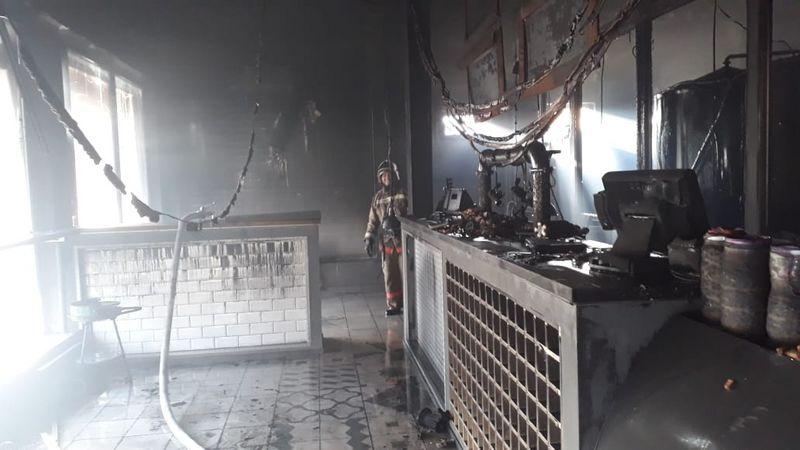 Новости Уральск - Пивоваренный комплекс горел в ЗКО