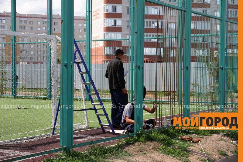 Новости Уральск - 20 миллионов тенге выделили на ремонт спортивных площадок в Уральске