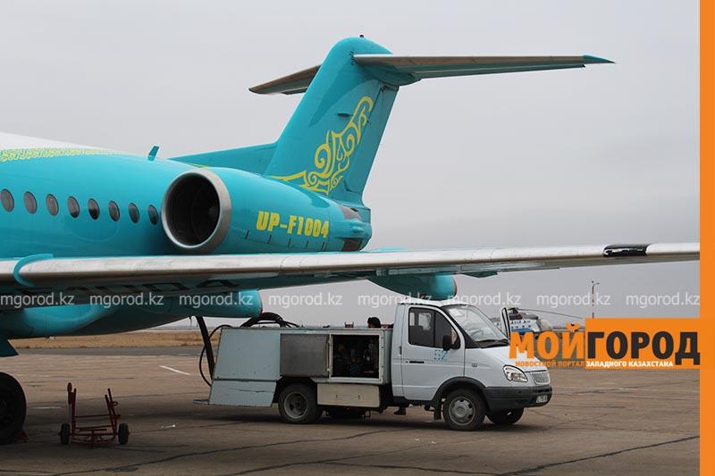 Восемь человек прилетели из Германии в Уральск (обновлено) У самолета Уральск-Алматы отказал двигатель