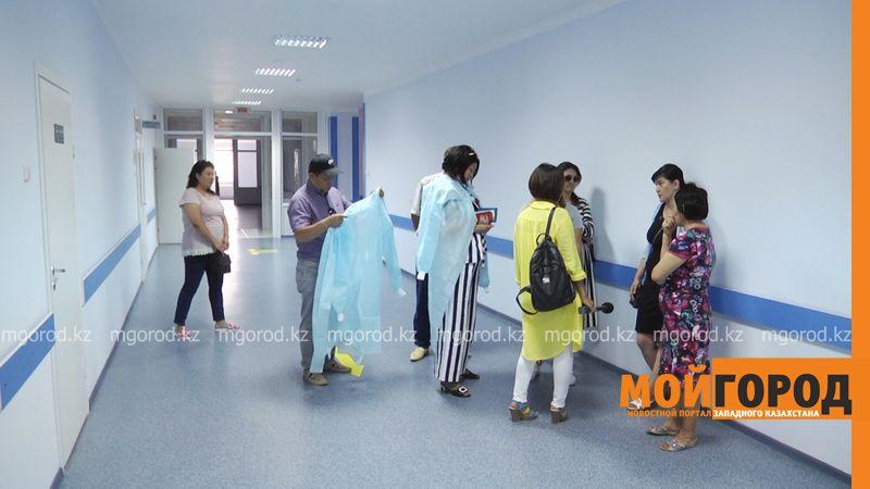 Ситуация в больнице Уральска