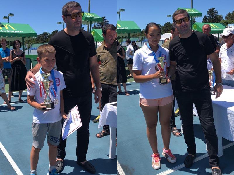 Новости Атырау - Три «серебра» и две «бронзы» привезли из Грузии атырауские теннисисты