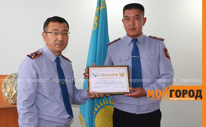 Новости Уральск - Лучшего участкового выбрали в ЗКО