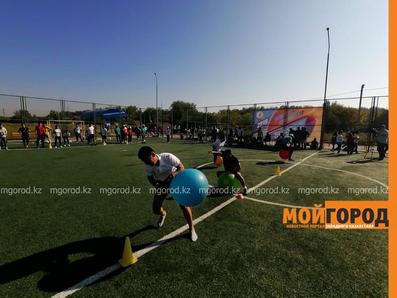 В Уральске отметили День спорта